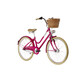 "Ortler Bricktown Childrens Bike 24"" pink/red"
